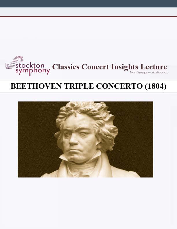 Beethoven Triple Concerto (1804) - Moris Senegor