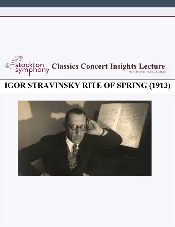 Stravinsky - The Rite of Spring - Arranged for Piano Duet 64 bit